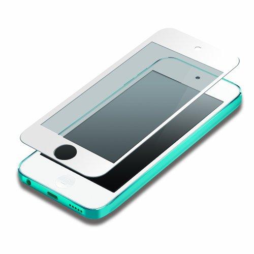 PGA iPod touch 第5世代 液晶保護フィルム 気泡ZERO指紋防止タイプ ホワイト PG-IPTO5ZRAGWH