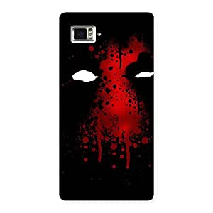 Impressive Horror Red Back Case Cover for Vibe Z2 Pro K920