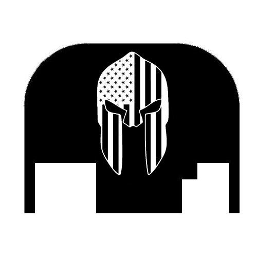 Fixxxer Molon Labe Helmet, Slide Cover Plate fits most Glocks (Glock) (Glock Slide Plate Cover compare prices)
