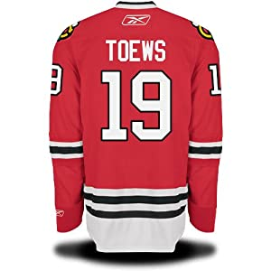 Jonathan Toews Chicago Blackhawks YOUTH Premier Home Jersey by Reebok by Reebok