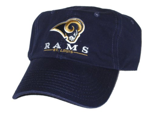 St. Louis Rams NFL Navy Adjustable Hat at Amazon.com