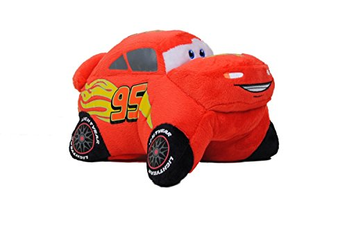 Pillow Pets Pee Wee Disney Cars Lightning McQueen , 11 inch