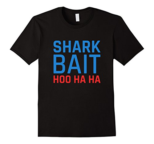 Men's Shark Bait Hoo Ha Ha Shirt 2XL Black (Shark Tees compare prices)