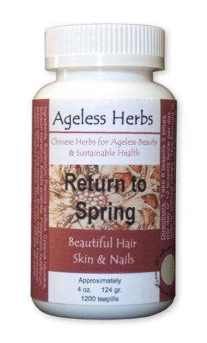 Buy Stop Hair Loss w/ Return to Spring Formula (Ageless Herbs Chinese Herbal Formulas Hair Loss Products, Hair Loss Products, Hair Regrowth Treatments)