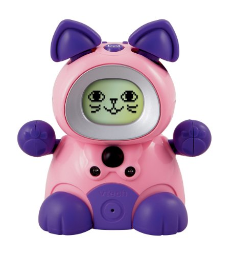 Vtech Kidiminiz Interactive Pet Kitten (Pink/Purple)