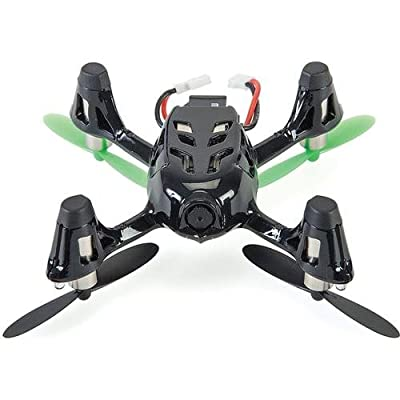 Hubsan 61170-02 4 Channel 2.4GHz RC Quad Copter with Camera (Green/Black)