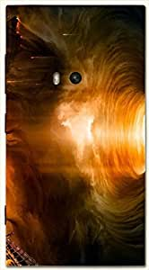 Beautiful multicolor printed protective REBEL mobile back cover for Nokia Lumia 920 D.No.N-L-10537-N920