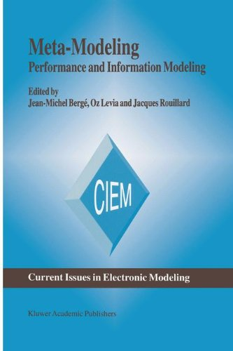 Meta-Modeling: Performance and Information Modeling (Current Issues in Electronic Modeling)