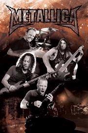 1art1 32587 Metallica - Metal Poster 91 x 61 cm