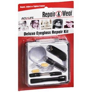 Eyeglass Repair Kit Meijer : Amazon.com: EYEGLASS REPAIR KIT DELUXE 1EA HEALTH ...