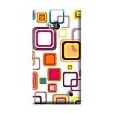 Garmor Seamless Colorful Design Plastic Back Cover For Nokia Lumia 730 (Seamless Colorful - 4)