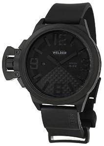 Welder by U-boat K24 Automatic Black Ion Plated Steel Mens Watch Calendar K24-3104