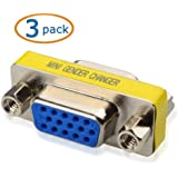 Cable Matters® 3-Pack, HD15 VGA Female Coupler