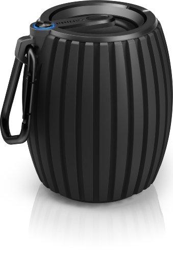 Philips Sbt30/Blk Soundshooter Wireless Portable Bluetooth Speaker Black Genuine