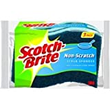 "3M COMPANY MP-3 ""Scotch-Brite"" No Scratch Multi-Purpose Scrub Sponge, 3-Pk"