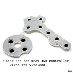 Replacement Conductive Rubber Pad Button Pads for Xbox 360 Controller wireless or wired