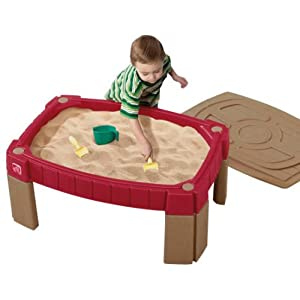 Click to buy Preschool Activity ideas: Step2 Naturally Playful Sand Table from Amazon!