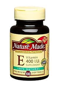 (维E)Nature Made Natural VE 400IU天然维E软胶囊100粒*3瓶SS后$24.31