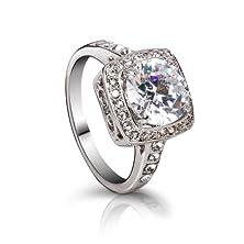 buy Fashion Plaza Cubic Zirconia Engagement Ring R330 (6)
