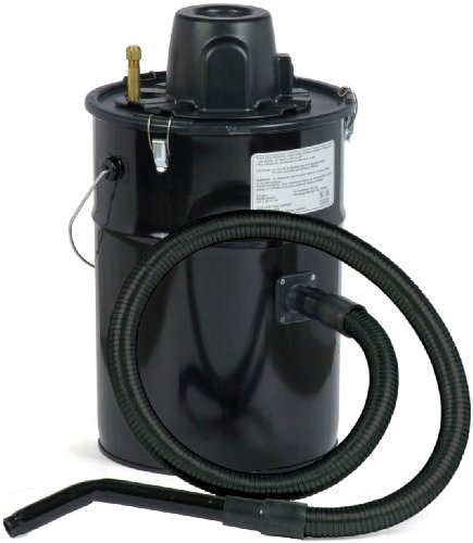 Dustless Technologies MU305 Cheetah II Ash Vacuum, Black