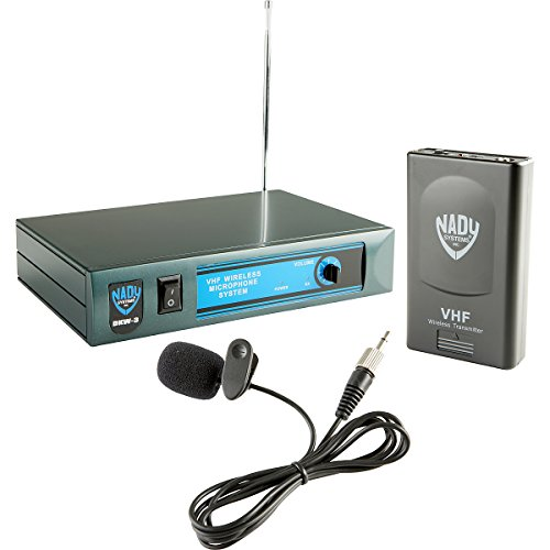 Nady Dkw-3 Lt/O/D Vhf Single Receiver Lavaliere Microphone System