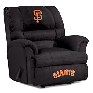 MLB San Francisco Giants Big Daddy Microfiber Recliner by Imperial