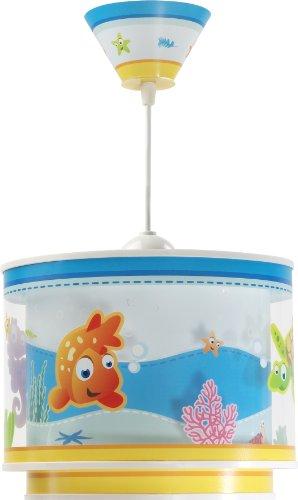 Aquarium-Hngeleuchte-Dalber-60332-Clownfisch-Seepferdchen-Schidkrte-Lampe-Kinder-Zimmer