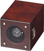 Auer Accessories Hektor 2901DB Watch Winder Dark Burlwood