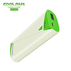 COOLNUT Power Bank 5200mAh, Single USB Output For Gionee, Zenfone, Intex, Micromax, Oneplus,Vivo
