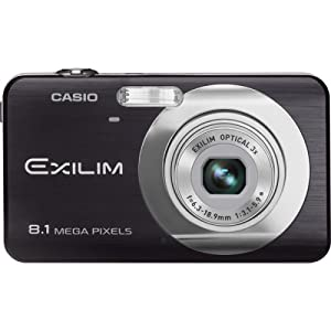 Casio Exilim EX-Z80 8MP Digital Camera - Black