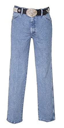 Wrangler Men's Jeans 13Mwz Original Fit Premium Wash Antique Bl 29W x 38L