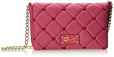 LUV BETSEY by Betsey Johnson Touch My Heart Cross Body Bag from LUV BETSEY by Betsey Johnson