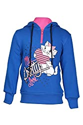 Cool Quotient Girl's Sweatshirts [CQGW15I108_Royal Blue_1-2 Years]
