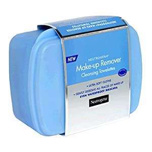 Neutrogena Makeup Remover Cleansing Towelettes, 25 Count (Pack of 2)