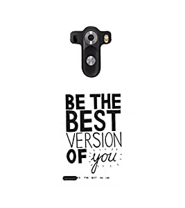printtech Cool Quotes Life Back Case Cover for LG G3::LG G3 D855