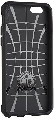 Coque iPhone 6s, Spigen Coque iPhone 6 / 6s [Rugged Capsule] rétablissement [Black ] Armure Robuste Ultimate protection et design robuste avec Premium Fini Mat solide Coque pour iPhone 6s (2015) - Black (SGP11597)