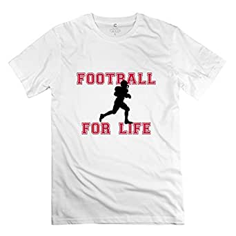Mksd Cool Football Life Design T Shirt For Men