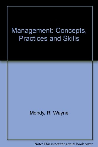 Management: Concepts, Practices and Skills