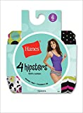 HANES WoMen's 100% Cotton Fashion Hipster – 4 Pairs – SK41F2 thumbnail