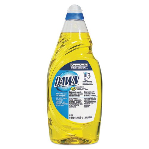 Dawn - Manual Pot & Pan Dish Detergent, Lemon, 38 oz Bottle 45113EA (DMi EA (Pot And Pan Detergent compare prices)