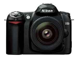 Nikon D50 DSLR Camera with 18-55mm f/3.5-5.6G ED AF-S Zoom Nikkor Lens (OLD MODEL)