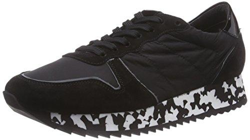 Kennel und Schmenger Schuhmanufaktur Drive, Low-Top Sneaker donna, Multicolore (Mehrfarbig (schwarz So weiss/camel)), 43