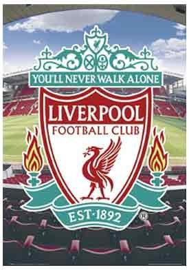 Premiership Soccer Liverpool Crest Poster
