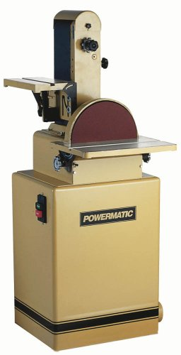 Powermatic 1791291K Model 31A 6-Inch/12-Inch 1-1/2 Horsepower Belt/Disc Sander, 115/230-Volt 1 Phase