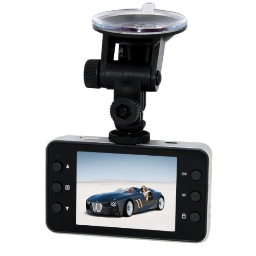 "1080P Hd 2.7"" Lcd Display Cctv Car Dvr Accident Black Box Dashboard Camcorder Camera Video Recorder H.264 With G-Sensor Built-In Mic Motion Detection"