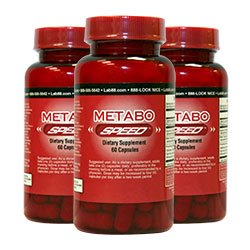 MetaboSpeed - Slim Down Faster! Maximum Strength Fat Burner! Buy 2 bottles Get 1 FREE! - For Rapid Weight Loss!!! -As Seen on Fox News &amp; RTL-