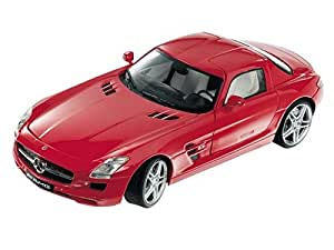 Mondo Motors Mondo 1:18 Scale Mercedes Benz Sls Amg Diecast Car Red Bnib New