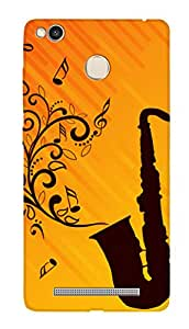 SWAG my CASE PRINTED BACK COVER FOR XIAOMI REDMI 3S PRIME Multicolor