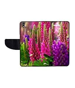 KolorEdge Printed Flip Cover For Lenovo S850 -Multicolor (50KeMLogo11255LenovoS850)