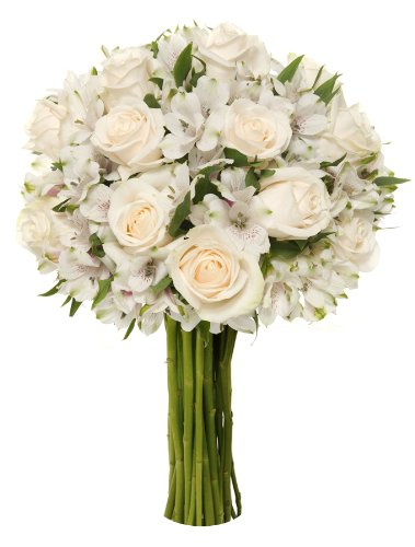 Benchmark Bouquets Elegance Roses and Alstroemeria…